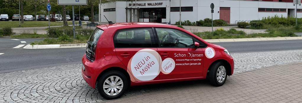 Auto von Schon & Jansen Pflege Standort Mörfelden